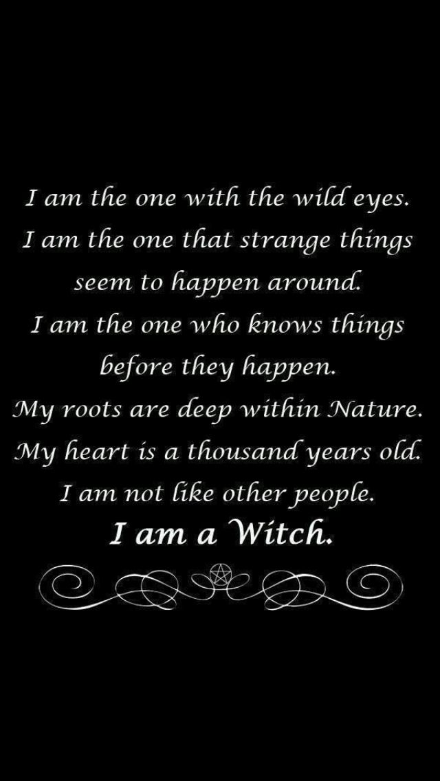 Pin by Brandy Janson on words of wisdom | Wicca quotes ...