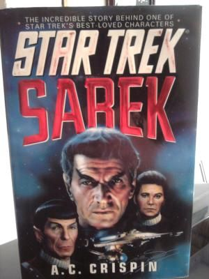 "Star Trek hardcover book ""Sarek"""