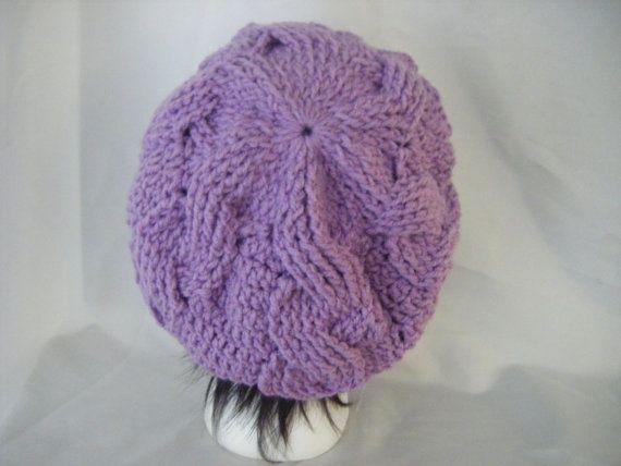 INSTANT DOWNLOAD Cables crochet Beret and Scarf Set por NatalieSpot ...