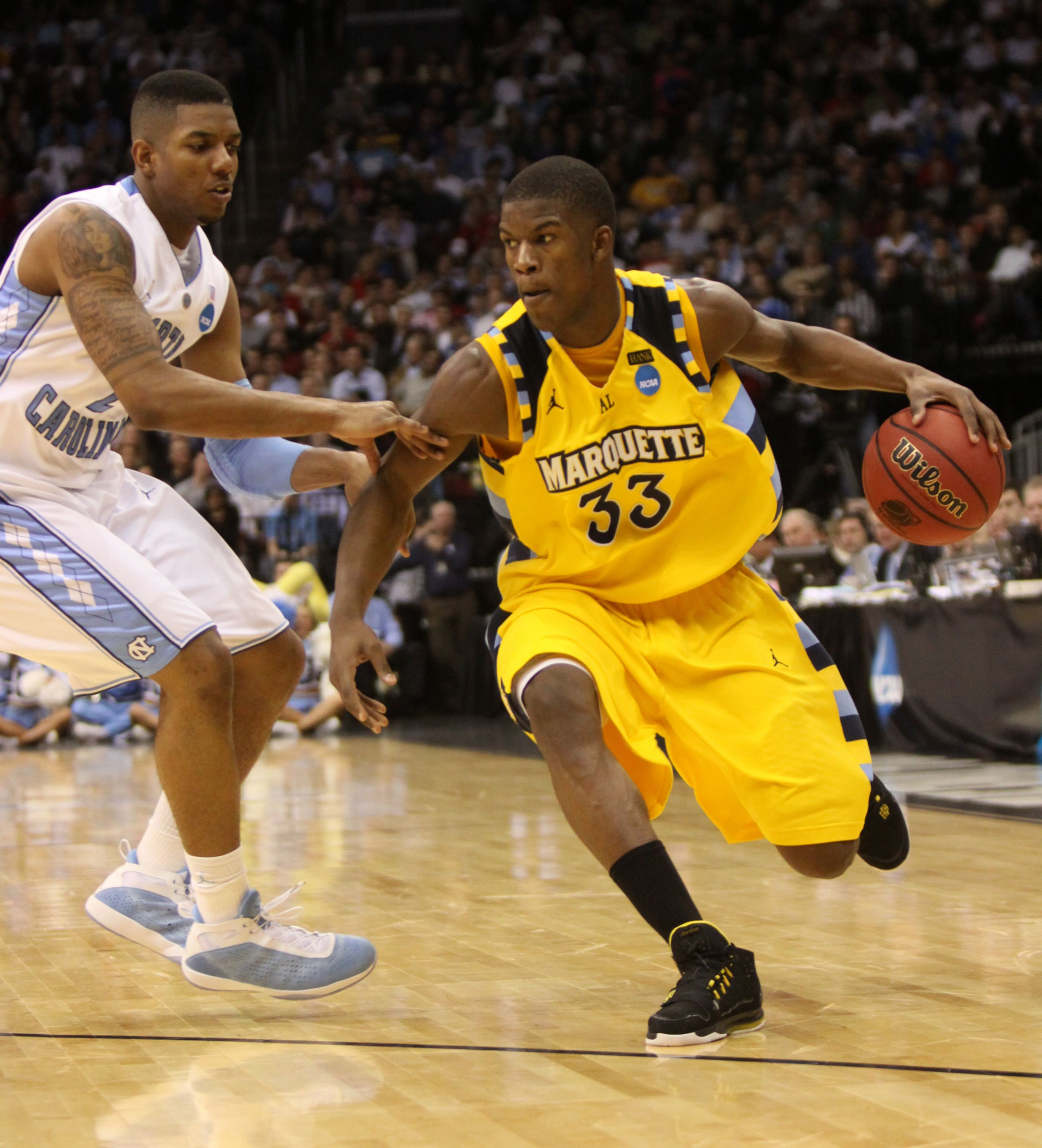 Jimmy Butler at Marquette in 2020 | Marquette basketball, Olympics 2008, Olympics