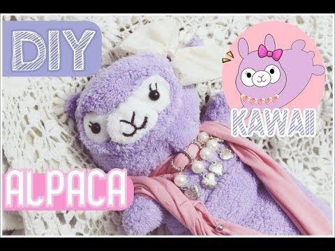 Kawaii Alpaca Pillow Tutorial YouTube