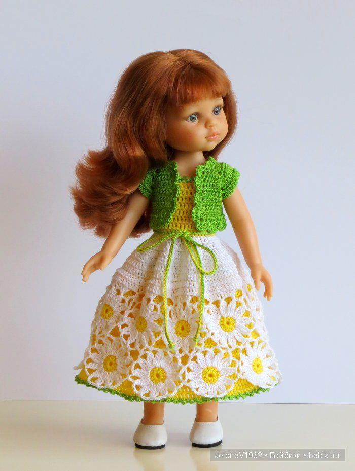 Осенние фантазии. Игровые куклы Paola Reina. Одежда своими