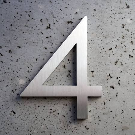 contemporary house numbers - Google Search