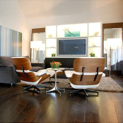 Forever A Classic The Eames Chair Has A White Future Designed Lounge Chairs Living Room Eames Lounge Chair Blue Chairs Living Room
