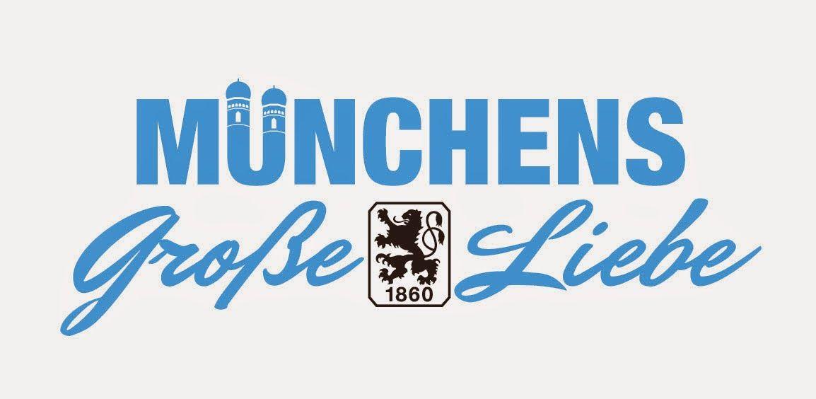 """1860 Munich Cartoon   Das Löwenbomber-Archiv: """"Münchens Große Liebe""""-Logo 2014"""