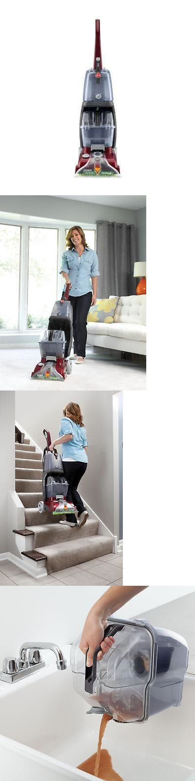 Carpet Steamers 79656 Hoover Power Scrub Deluxe Multifloor Carpet Cleaner Washer Fh50170 Buy It Now Only 89 Clean Washer Carpet Steamers