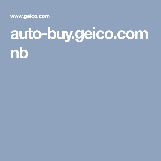 Auto Buy Geico Com Nb Car Buying