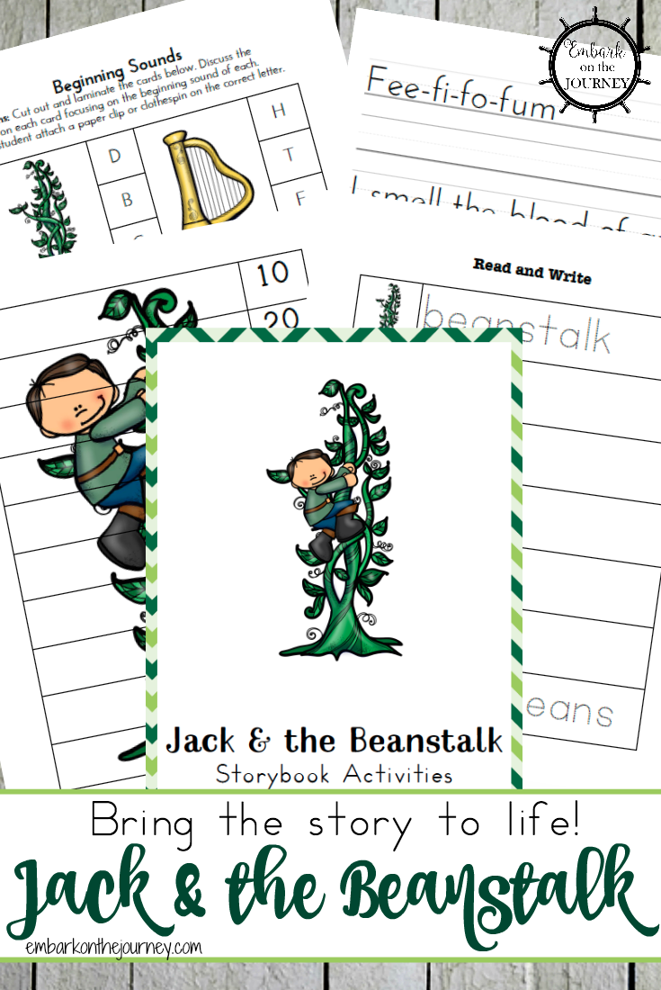 Jack and the Beanstalk Free Printables and Activities   Free ...