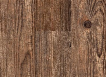 """Tranquility-1.5 mm resilient textured wood-look vinyl, 4"""" wide x 36"""" long peel & stick planks.  South Perry Pine, 59¢/SF."""