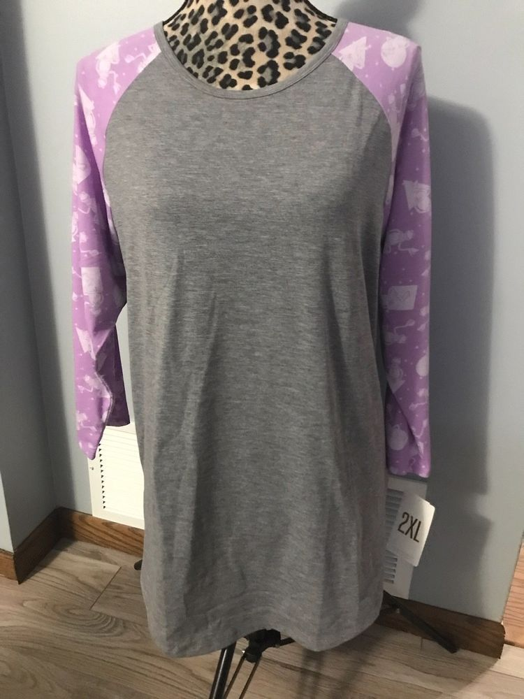 9ea1fb9233db69 LuLaRoe Randy Shirt Disney Muppets Kermit 2XL Gray & Purple NWT #fashion  #clothing #shoes #accessories #womensclothing #tops (ebay link)