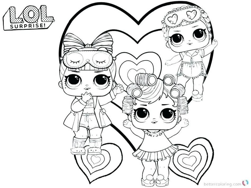 Lol Surprise Doll Coloring Pages Color Your Favorite Lol Surprise Doll Lol Dolls Coloring Pages Doll Party