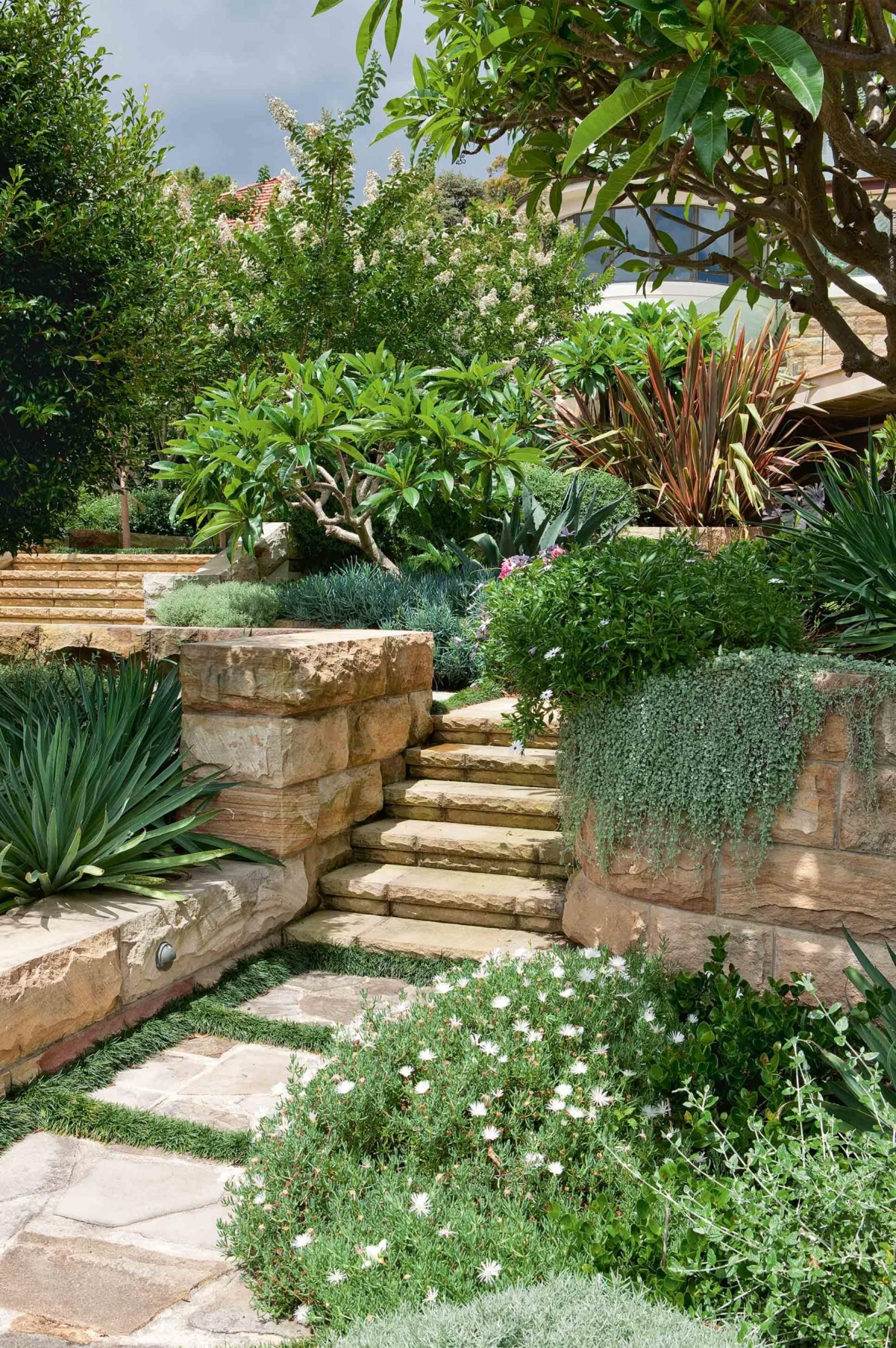 Design ideas from an incredible multi-tiered garden ... on Tiered Patio Ideas id=88172