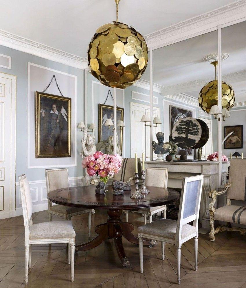 Golden Lighting Design Ideas For Modern Luxury Homes Dining Room