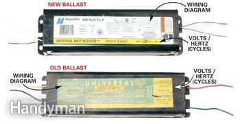 How to Replace a Fluorescent Light Ballast Electrical