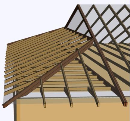 Dutch Hip System Rendering Gable Roof Design Hip Roof Design Gable Roof