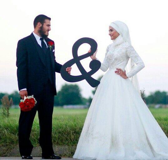 Cute And Romantic Muslim Wedding Muslim Wedding Cute Muslim Couples Muslim Brides