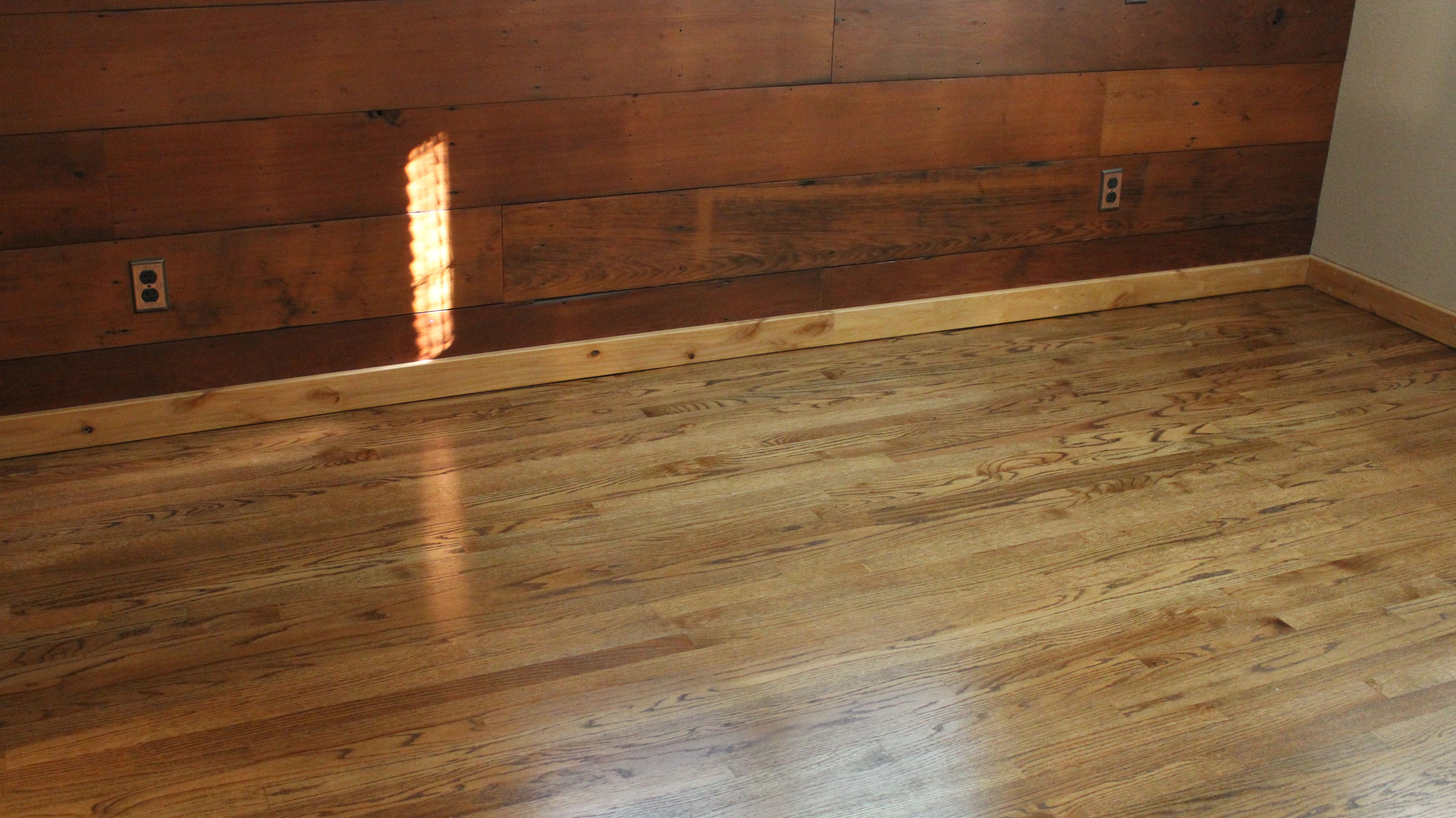 Dura Seal Provincial Stain The Floor Is Red Oak The