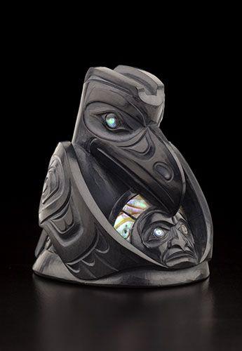 Raven And The Light By Christian White Haida Artist