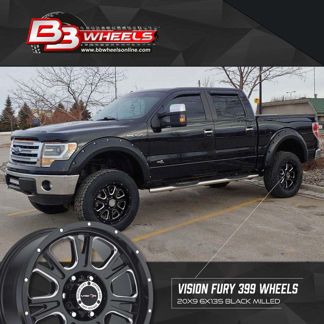 Sales9771 posted to instagram these vision fury 399 wheels look amazing on your f150