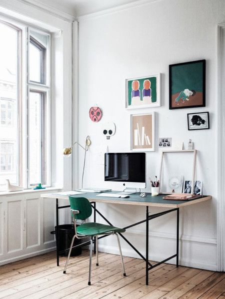 Moderno escritorio salon 8 workspace pinterest for Salon workspace