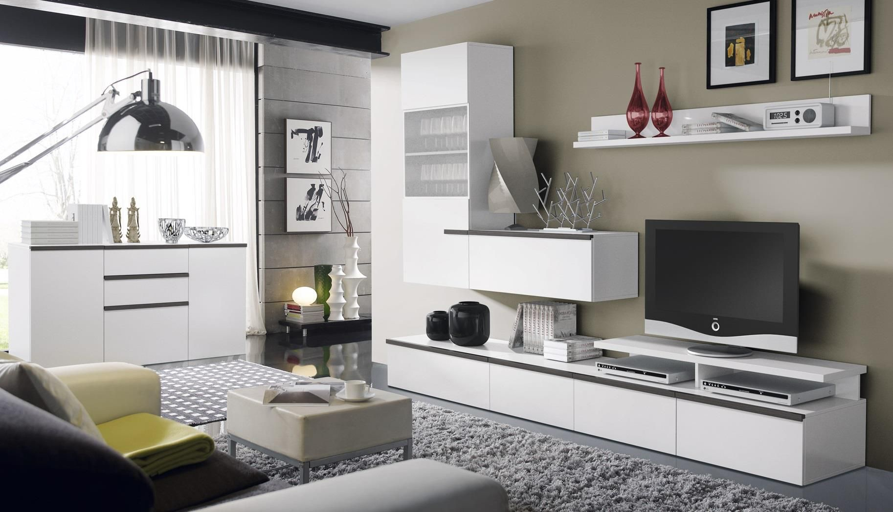 Os gusta este nuevo modelo de salon comedor lo tienes a - Modelos de muebles de salon ...