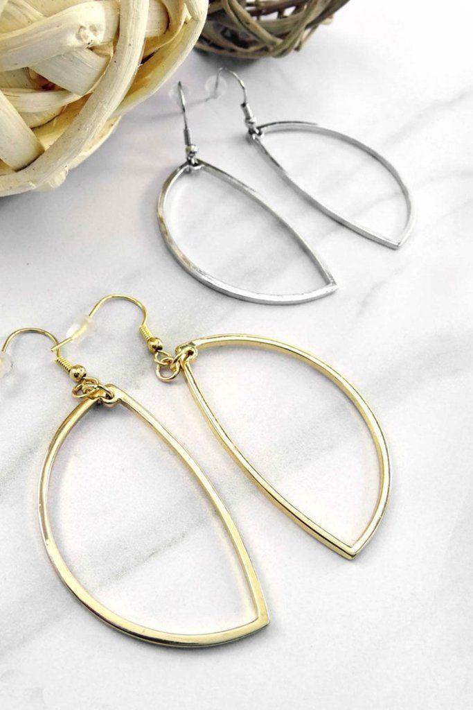Mayra Geo Hoop Earrings