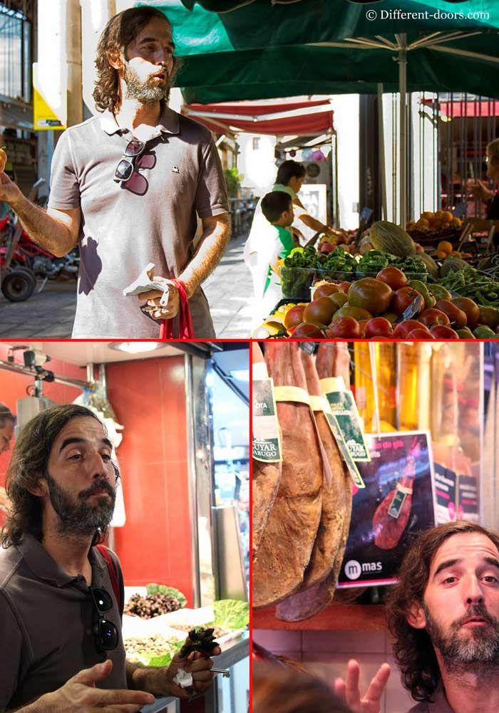 Chef Candido, Barcelona Cooking, Cooking class, Spain, Catalan, Tours, La Boqueria