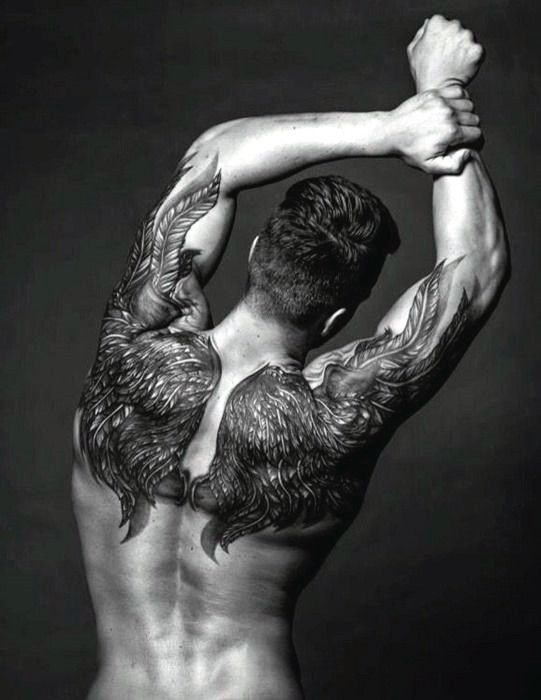 Top 100 Best Wing Tattoos For Men Designs That Elevate Tattoo