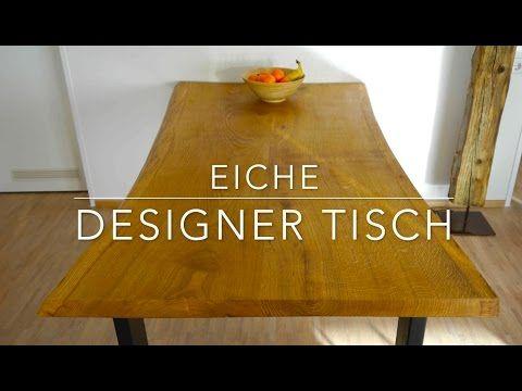 designer tisch selber bauen anleitung mrhandwerk youtube diy m bel tisch selber bauen. Black Bedroom Furniture Sets. Home Design Ideas