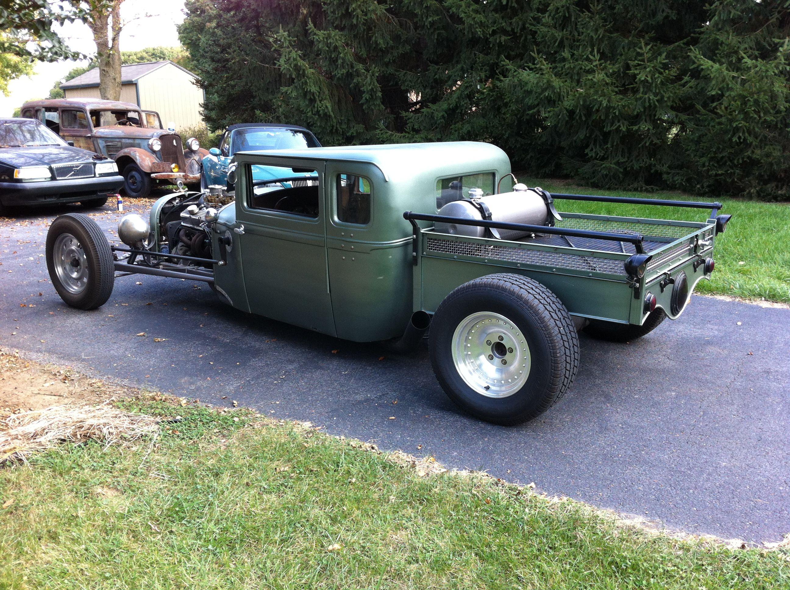 1928 Essex Rat Rod Built And Owned By Bones Rat Rod Rat Rod Build Monster Trucks
