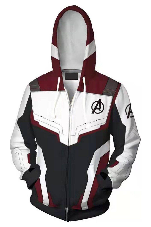 The Flash Sweatshirt Hoodie Anime 3D Zipper Jacket Coat Cosplay Costume