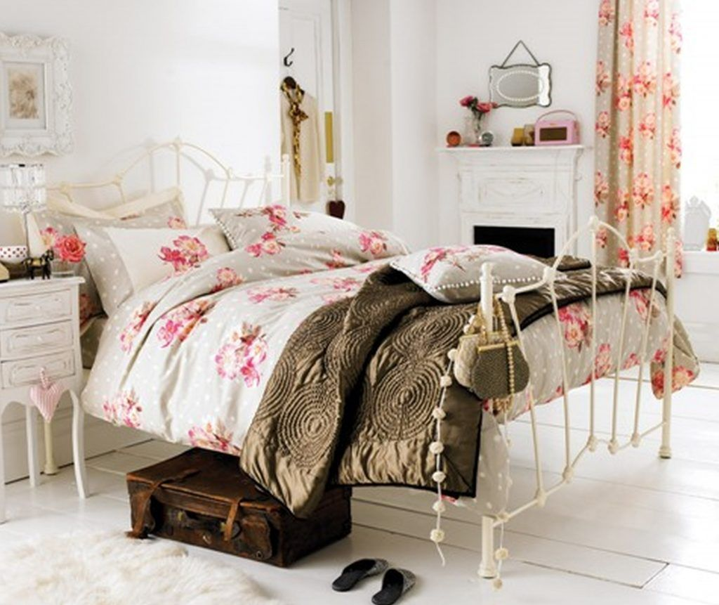 Cortinas Vintage Decoración Vintage Pinterest - Vintage bedroom design ideas