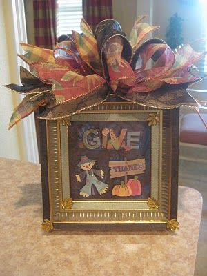 Fall picture frame