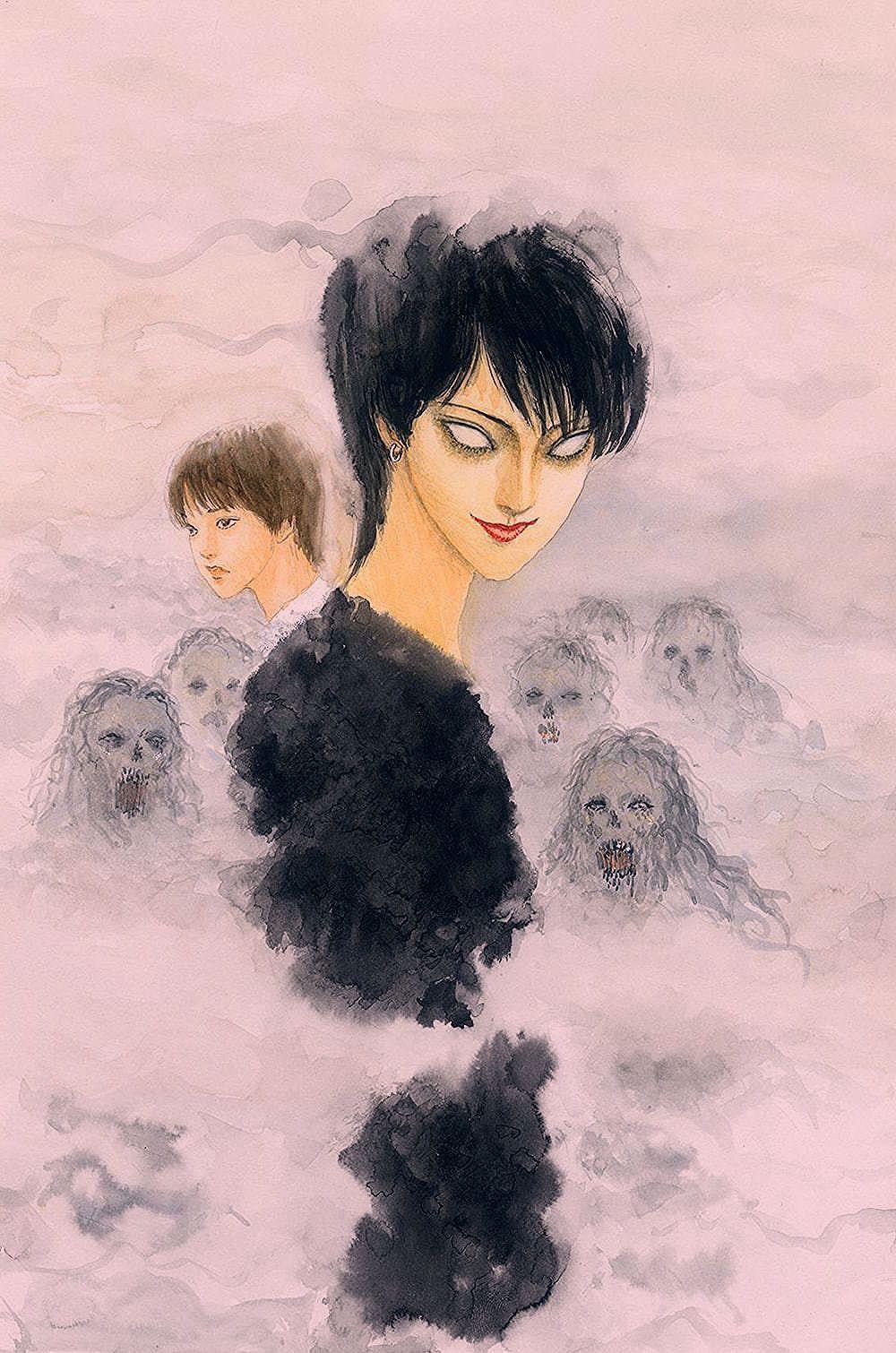 Art by junji ito in 2020 art junji ito anime