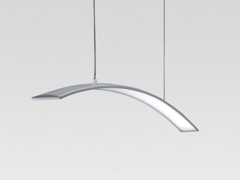 Led extruded aluminium pendant lamp spectra reggiani illuminazione