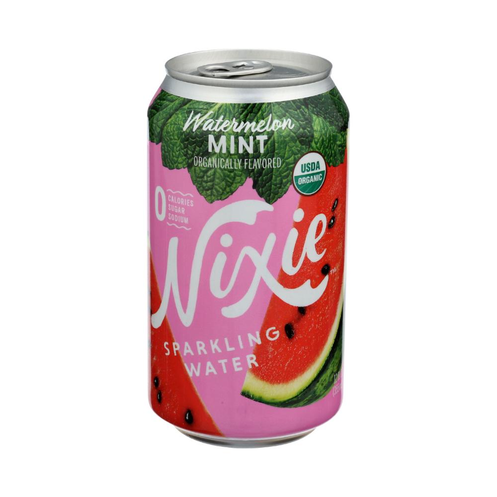 Sparkling Water Watermelon Mint 12 Fl Oz Nixie Sparkling Water Whole Foods Market Watermelon Mint Whole Food Recipes Whole Foods Market