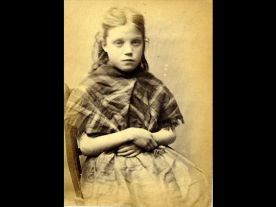 At the age of 11, this young girl, Ellen, was ordered to do 7 days hard labor after being convicted of stealing iron when caught with Mary Catherine Docherty, Rosanna Watson and Mary Hinnigan. These photographs are of convicted criminals in Newcastle, England between 1871 - 1873.