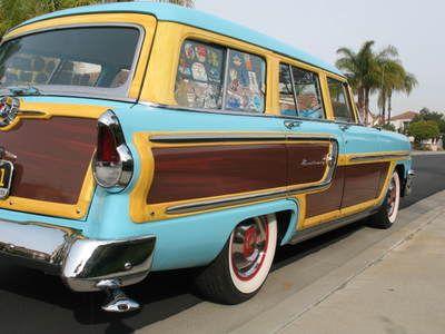 1955 Mercury monterey woody For Sale in san clemente, California ...