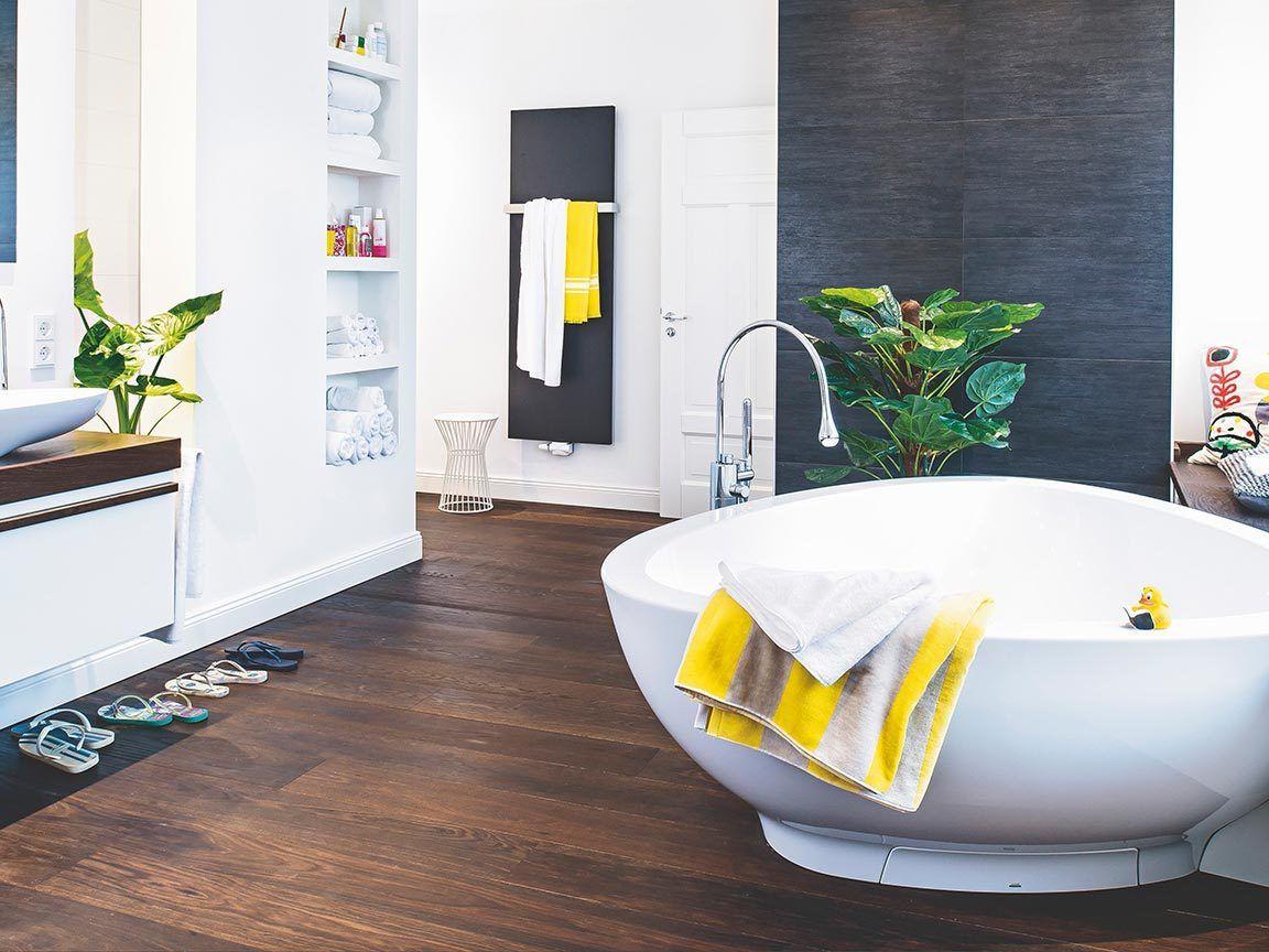 Bad ohne Fliesen » Ideen für die Wandgestaltung ...