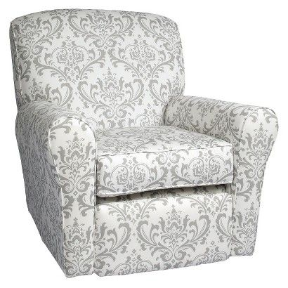 Target : Little Castle Reclining Swivel Glider   The Linen Bordeaux  Collection : Image Zoom