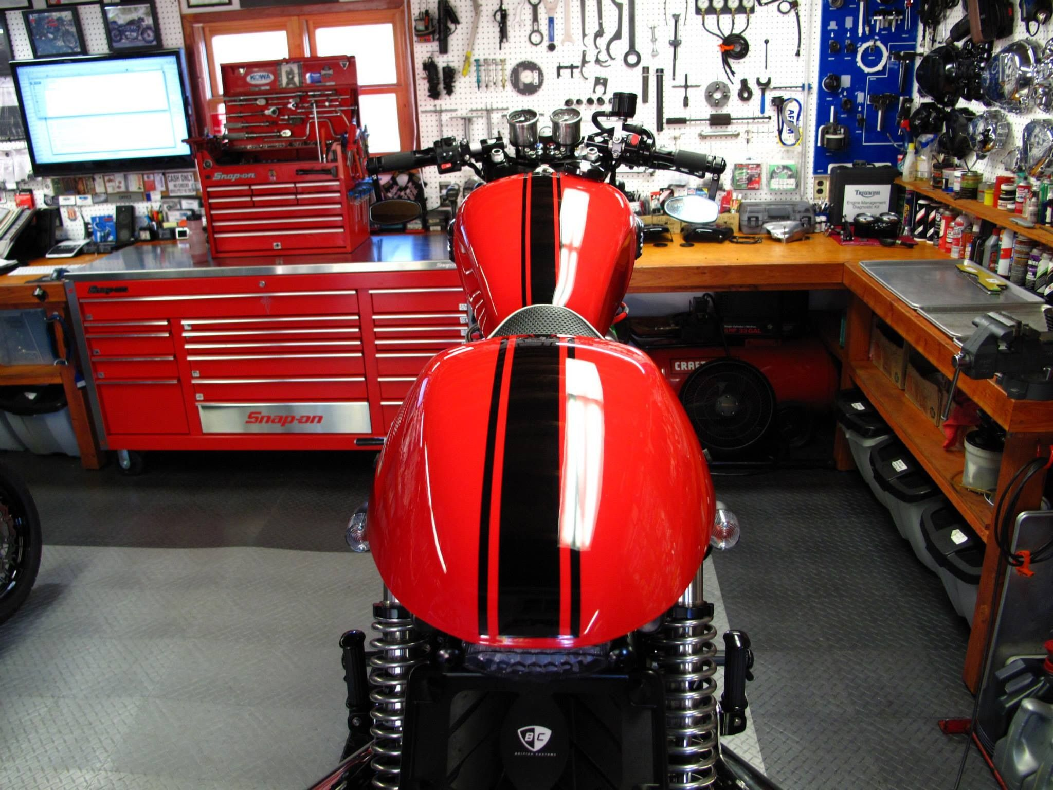 Motorcycle Garage Ideas