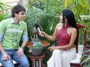 interview for a Venezuelan television channel @Danielpereiratm