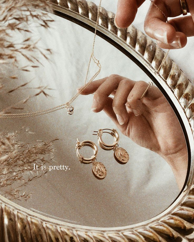 Photo of Gold jewelry & mirror trays // Jewelry I'm loving at the moment from Hey Heg… …