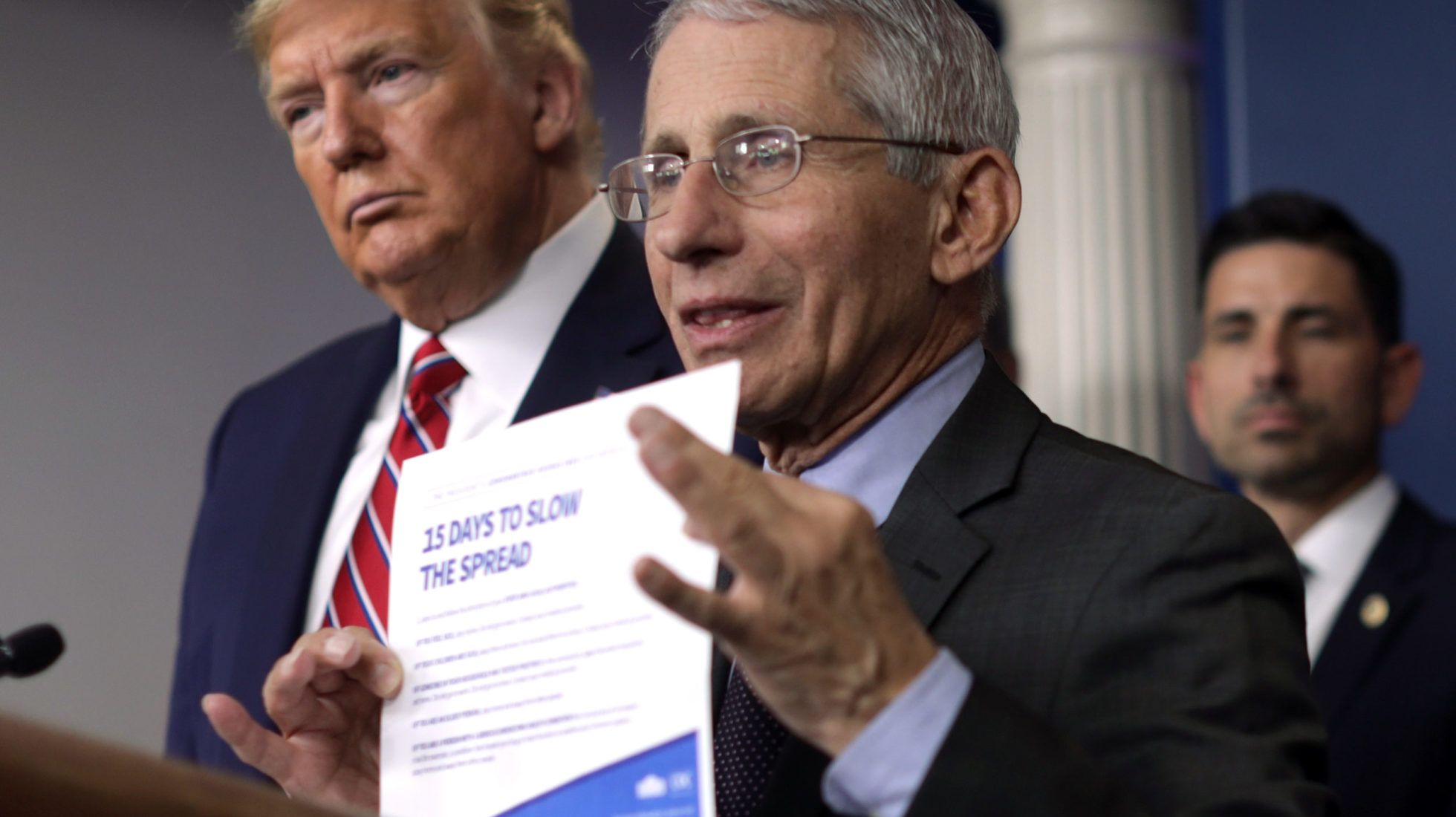 """NYT Trump Reportedly """"Losing Patience"""" With Fauci in 2020"""
