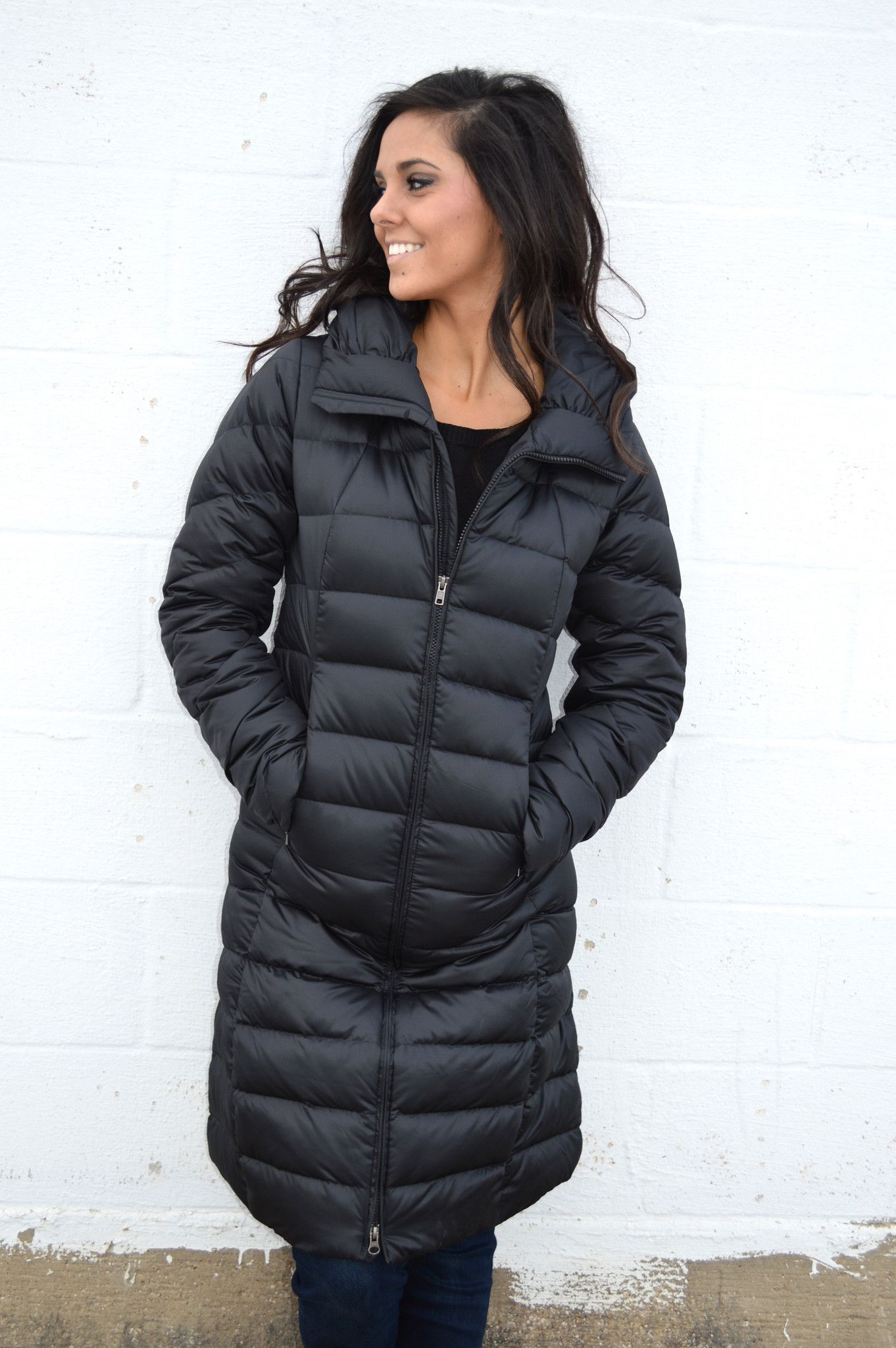 Patagonia Women S Downtown Loft Parka Black From Shop