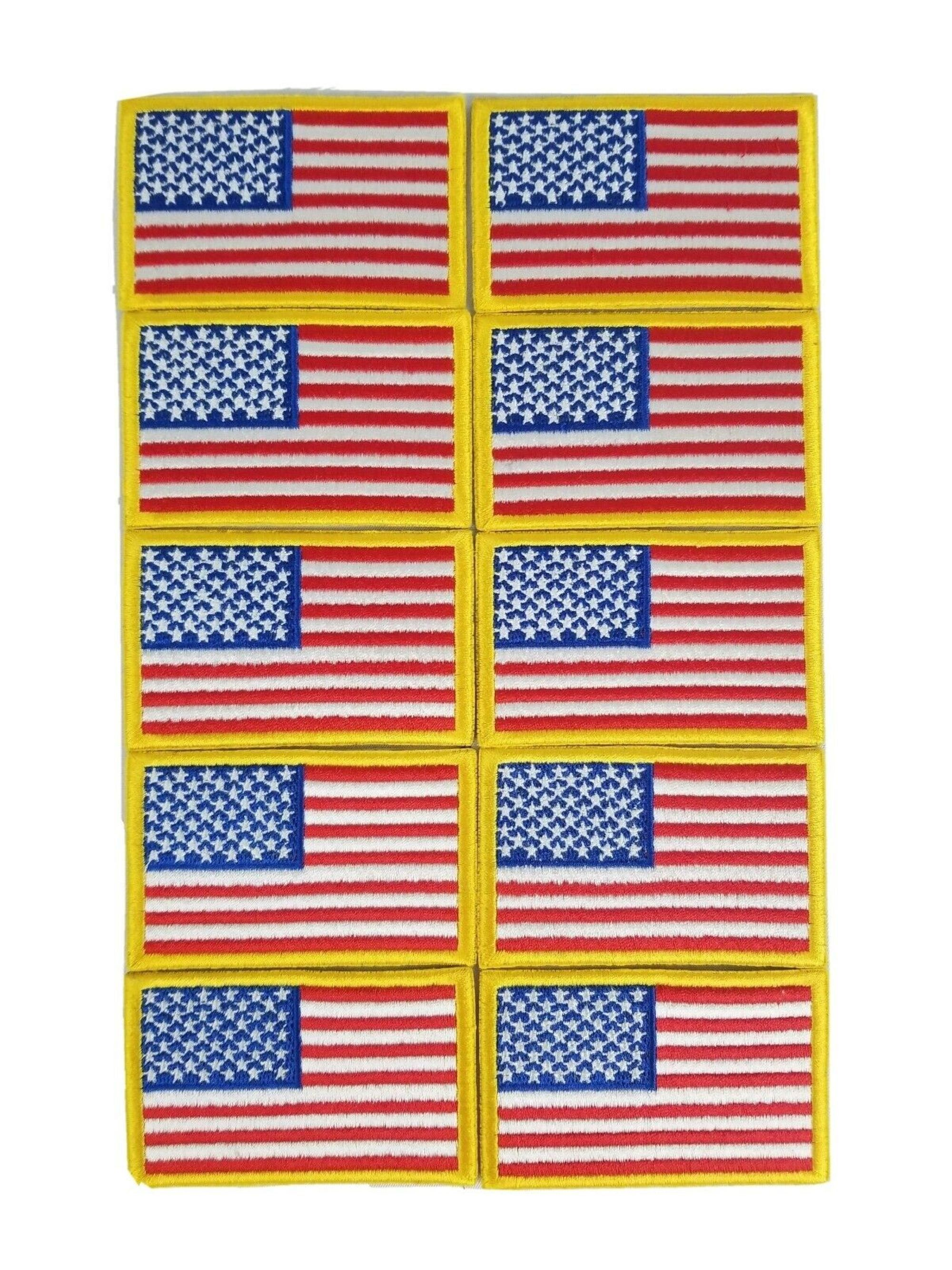 American Flag Patch United States Of America Usa Etsy In 2020 American Flag Patch Flag Patches American Flag