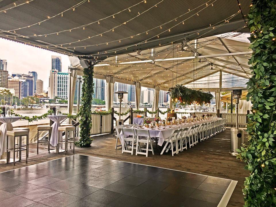 Brisbane Wedding Venues Riverlife Weddings River And City Views Weddinginspriation Weddingstyle House Front Pergola Wedding Inspriation