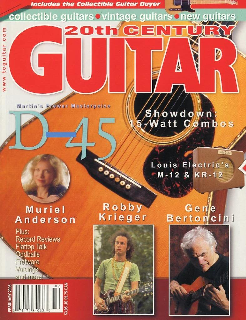 20th Century Guitar Magazine Back Issue February 2006 Acoustic Gui In 2021 Guitar Magazine Guitar 20th Century