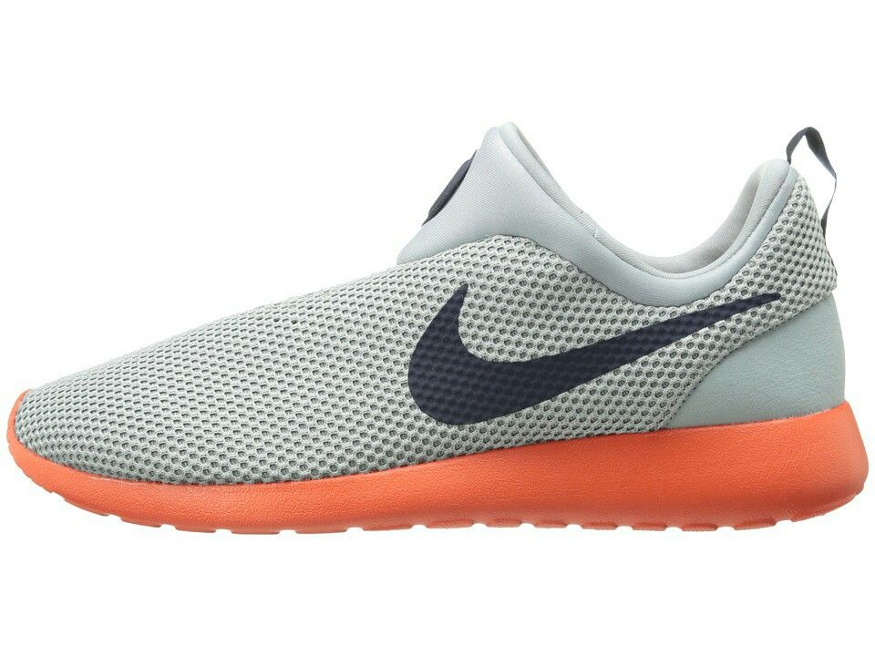 a1879ad5f320 Nike roshe runs slips ons orange and grey