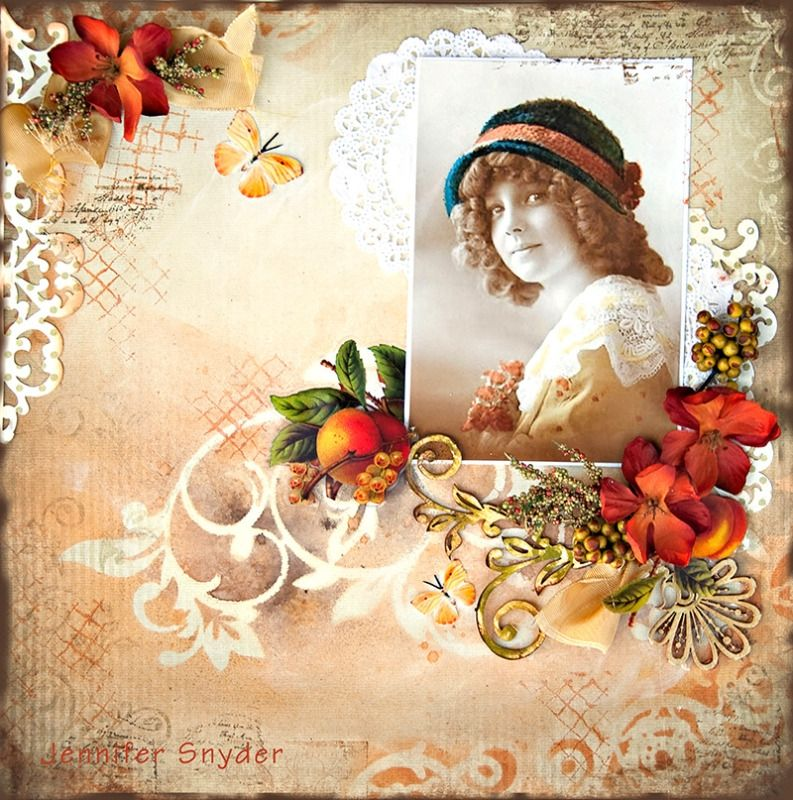 Peach Harvest - Studio 75 - Scrapbook.com